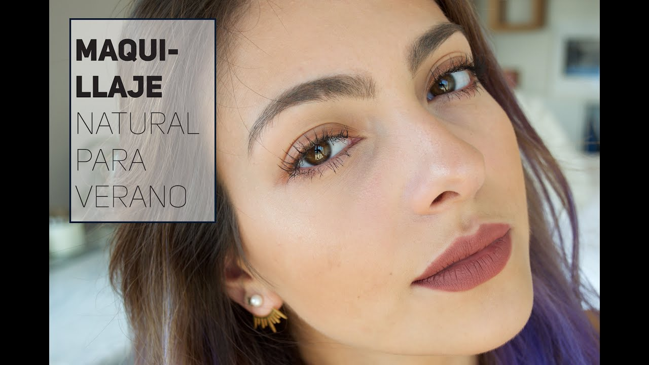 tutorial de maquillaje natural