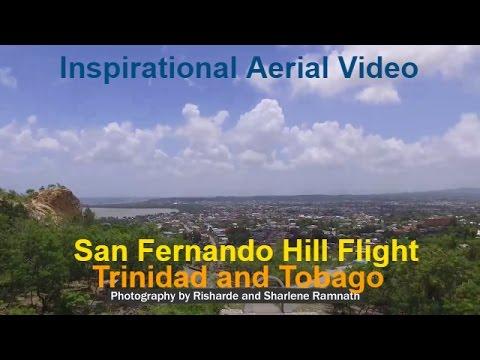 San Fernando Hill Children's Park Flight View - Trinidad and Tobago