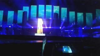 Rihanna - Loveeee song , Love the way you lie , Diamonds World Tour, Bilbao , Spain HD