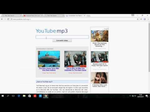 como descargar musica de youtube sin progrmas en corto tiempo