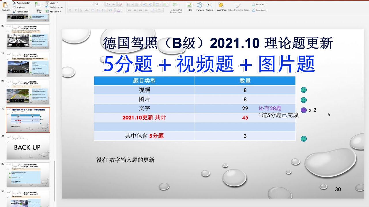 """【德国驾照】#103# 2021年10月理论题更新 之 """"5分题"""" + """"视频题""""+ """"图片题"""""""