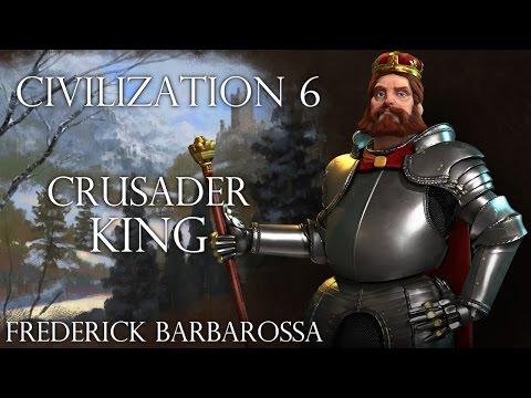 No City States Bug?? Civilization 6 - Crusader King Episode 1 (Emperor)