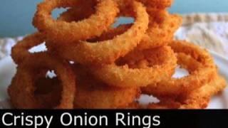 Crispy Onion Rings Recipe - How To Make Crispy Onion Rings - Foodwishes