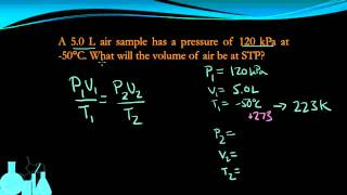 Chemistry 7.4d Combined Gas Law