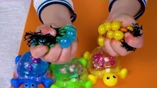Games with colored  slimies