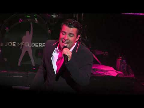 Joe McElderry - Solitaire - Southend  Opening Show - 2018 Tour