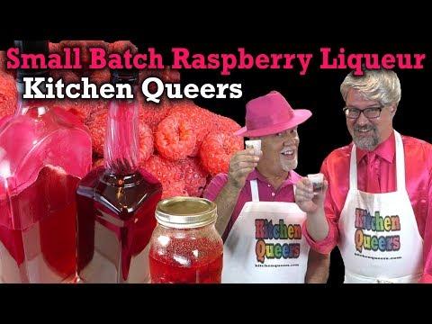 Kitchen Queers Small Batch Raspberry Liqueur Tutorial (S4E15N75-HD)