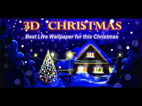 3D Christmas Live Wallpaper - YouTube