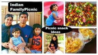 Indian Picnic Preparation | Indian Family evening outing | Picnic food