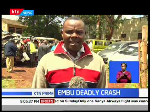 Embu deadly crash leaves some passengers in ICU