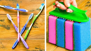 TOP 35 Cleaning Hacks & Tips to Make Your Life Easier!