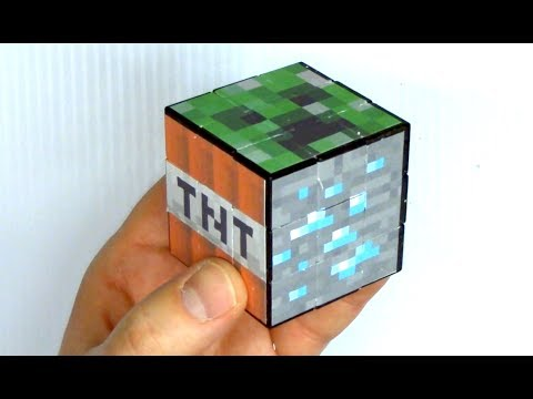 Make A Minecraft Rubik's Cube Puzzle