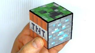 Make A Minecraft Rubik's Cube Puzzle