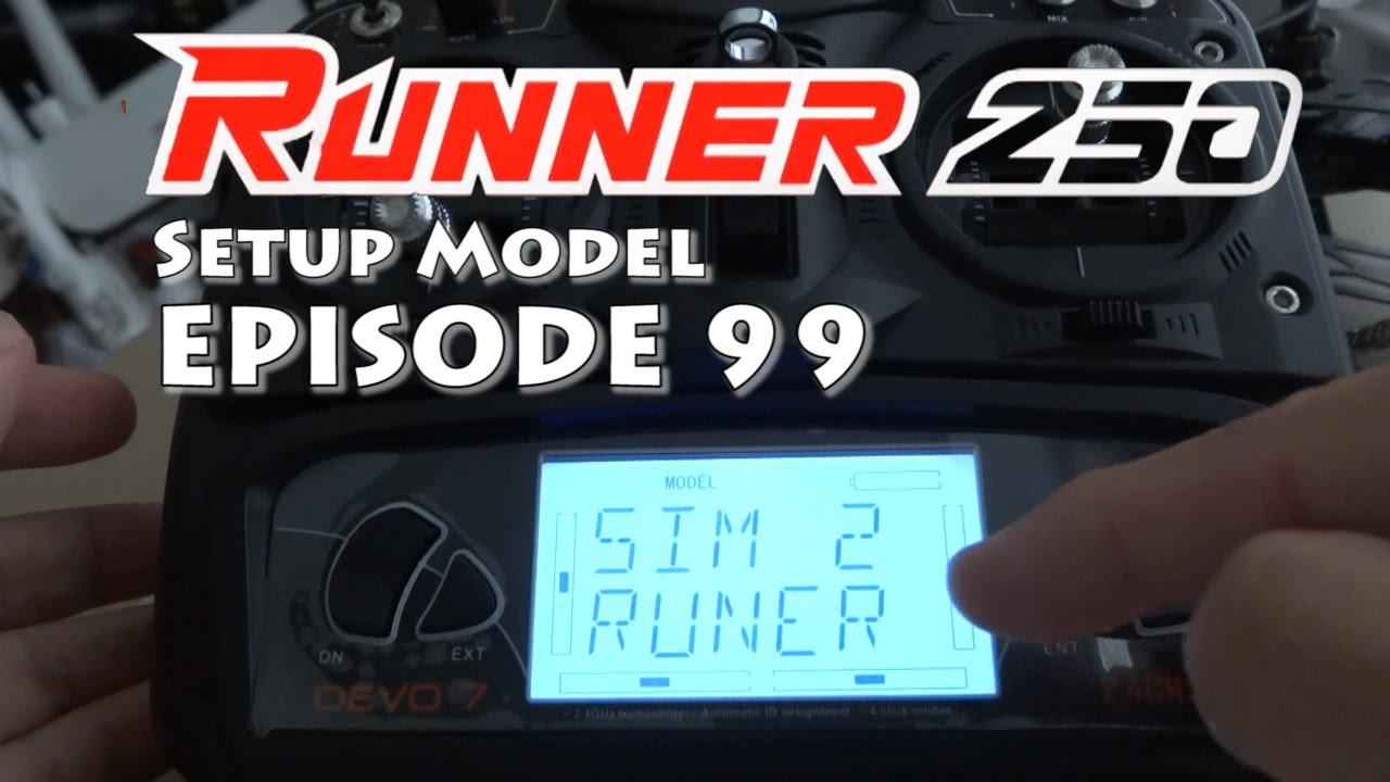 Runner 250 Bnf Devo 7 Setup Ft X350 Premium Mission Youtube