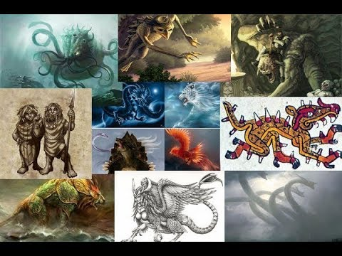 Ten Mythological Creatures in Ancient Folklore Part I