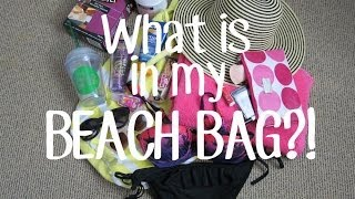 What's in my BEACH BAG?! Thumbnail