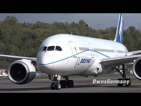 Testing Boeing 787-10 Rolls Royce Engines on a 787-8 Dreamliner