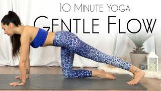 10 Minute Gentle Full Body Yoga Flow