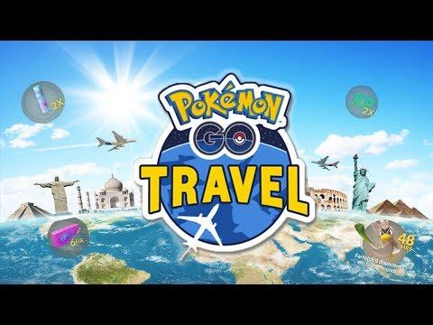 Download Youtube: NOVO EVENTO POKEMON GO TRAVEL COMEÇOU!!E É INCRIVEL!