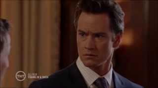 Franklin & Bash - Peter's Outburst At Court & Jared Begging For Forgiveness (S04E07)