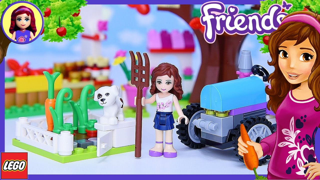LEGO Friends Sunshine Harvest Build Review Silly Play ...
