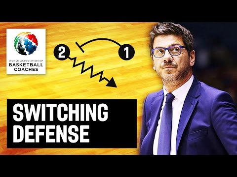 Switching defense - Fotis Katsikaris - Basketball Fundamentals