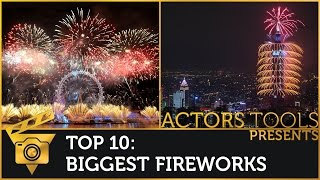 Biggest Fireworks Around The World - Top 10
