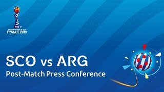 sco v arg post match press conference