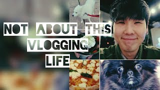 Will(윌) - Literally a video of food and doggos - My first Vlog (kinda)