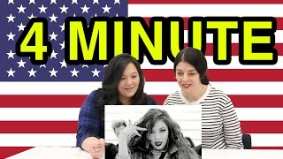 "Americans react to Kpop's 4Minute and their song ""Crazy."" Hilarious..."