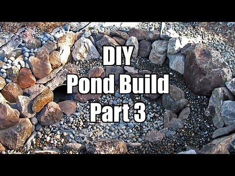 DIY Backyard Pond Build Part 3 | Rocking The Pond