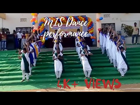 Welcome song on the occasion of sports Day in MIS || Students ||