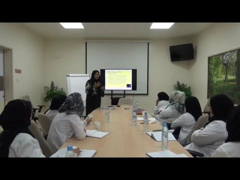 Dr. Rahmah Al-Ghabshi, Preimplantation Genetic Diagnosis (29/03/2016)
