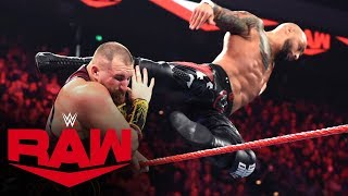 Ricochet vs. Mojo Rawley: Raw, Jan. 13, 2020