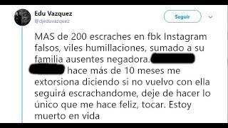 Tras la muerte de Edu Vázquez, advertencias sobre los escraches en redes