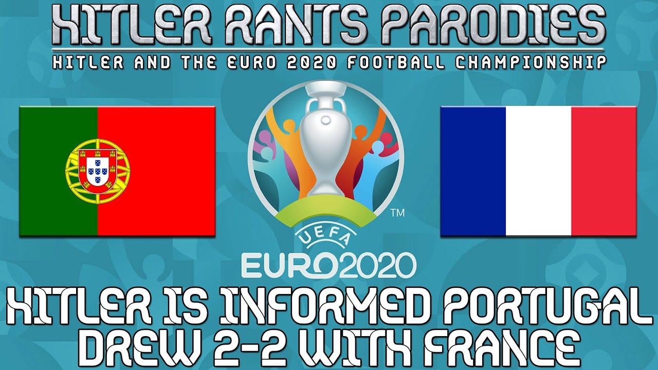 Hitler is informed Portugal drew 2-2 with France