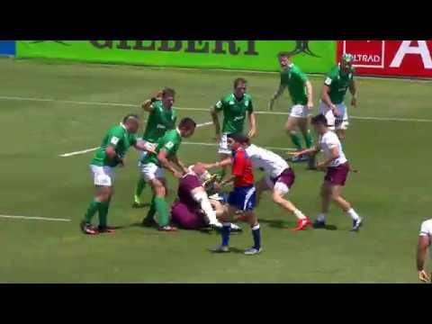 U20 Highlights: Ireland finish on a high with win over Georgia