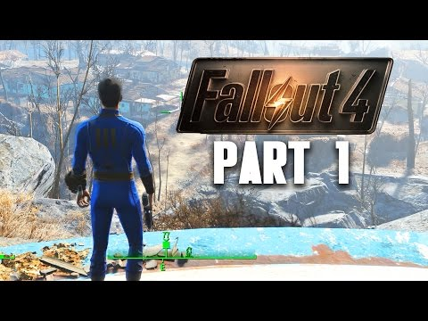 Fallout 4 Walkthrough Part 1 - VAULT 111 (Gameplay 1080p 60FPS PC)