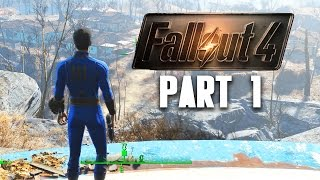 Fallout 4 Walkthrough Part 1 - VAULT 111 (Gameplay 1080p 60FPS PC)