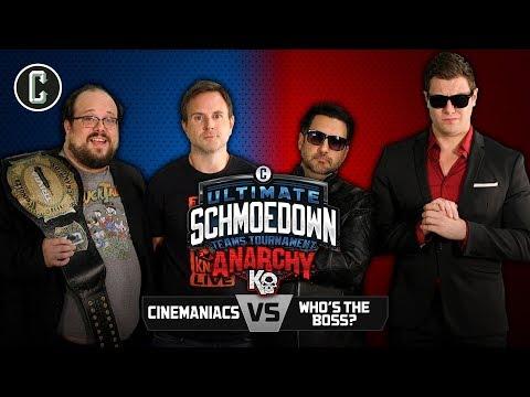 Anarchy Round 2! Bibbiani/Knost VS Reilly/Bateman - Movie Trivia Schmoedown