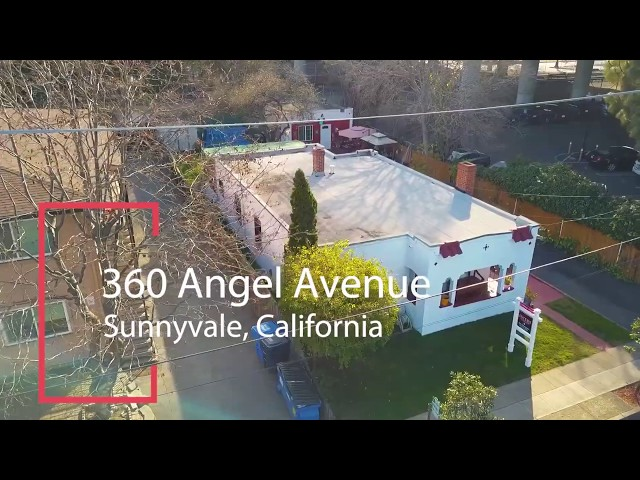 NEW LISTING! 360 Angel Avenue, Sunnyvale CA by David Azimi & Moe Khanghahi