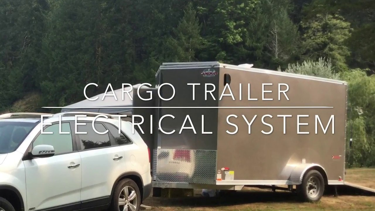 Electrical System cargo trailer