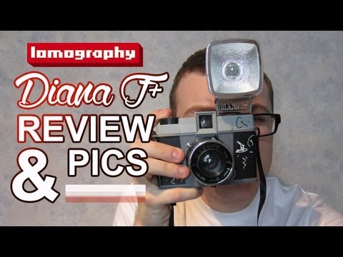 Lomography Diana F+ 120mm Film Photography Camera Review