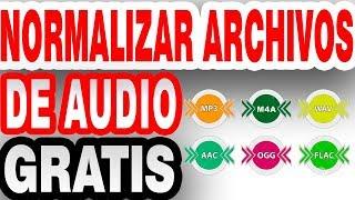 ♻️ Cómo Normalizar Volumen De AUDIO - Mp3 Flac Wave M4a GRATIS mixman dj 2021 🔥