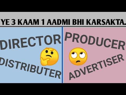 Difference between director and producer?|| Difference between producer and director?