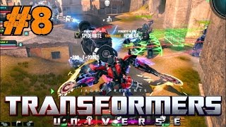 Transformers Universe BETA Gameplay Ep.8 | Multiplayer Elimination on Santa Vega [PC HD]