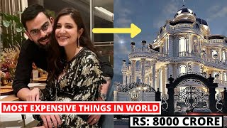 8 Shocking Most Expensive things Anushka Sharma Husband Virat kohli Owns