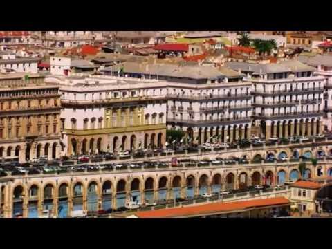 الجزائر العاصمة رؤية من السماء   دحمان الحراشي يا الرايح  HD