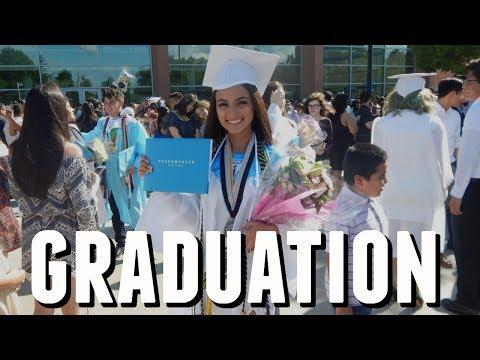HIGH SCHOOL GRADUATION 2017 | GRWM + VLOG