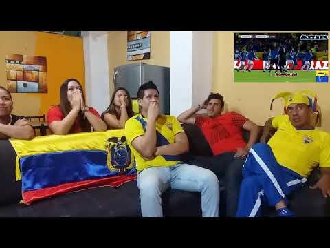 Ecuador 1 Argentina 3 | Eliminatorias Rusia 2018 | Reacciones entre amigos | Reaccion.